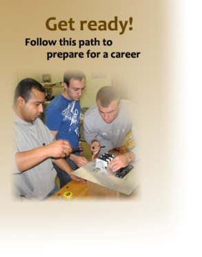 get ready! follow this path to prepare for a career